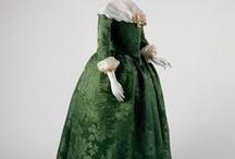 18th c women's dress 1770-80 / by Gil Skidmore