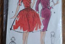 Vintage Swedish sewing / Vintage sewing patterns advertised on Tradera. Mostly dating back to the forties, fifties and sixties and by pattern companies Stil, Vi Mönster and Record.