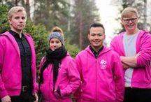 Below Zero Super Heroes / Lapland UAS' EM Cup Team 2017; Finnish Lapland