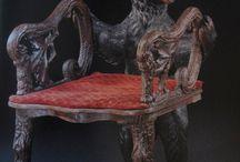 myslivost - židle