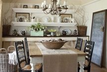 Dining Room Ideas / by Amy Higgins-Margalli