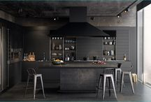 Stunning Black Kitchens That Tempt You To Go Dark / Dark isn't the first theme that comes to mind when designing a kitchen. Stereotypical assumptions are of white and bright kitchens, matched by light wood the color of breakfast pancakes.