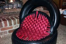 Lastik koltuklar