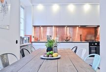 KITCHEN RENOVATION / Diy and inspiration for the kitchen update. Modern and sleek.