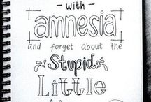 Drawings/Lyric / It's song lyric and other cute drawings