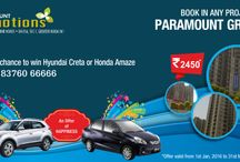 2BHK/3BHK and 4 BHK residential flats in Noida Extension / At Paramount Emotions, we deliver the best services to our clients by offering the top class architecture of 2 BHK, 3 BHK, and 4 BHK residential flats in Noida Extension, and Greater Noida West. These flats are available at most reasonable prices.
