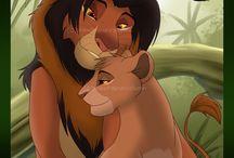 Simba & Nala <3