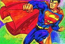 Super Heroes Art / Art of Superheroes