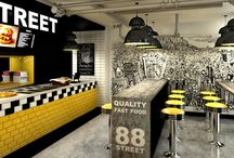 fast food interior