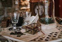 Steampunk/Victorian Wedding Inspiration