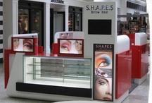 Shopping centre kiosk
