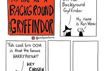 My life as a background Gryffindor