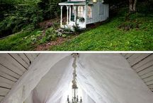 Tiny Cabin ideas for our farm / by Wendy Jo Burke