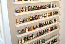 Lego & train tables & storage