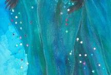 Azul da cor do mar.... o azul de Iemanjá!! Odoiá...