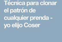 TECNICAS DE COSTURA