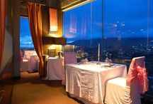 Sky Private / 16 seats fine dining venue for the demanding and spoiled customers of The Peak. Fine Selected Menus, at the highest quality, well selected wines and cigars, special composed music and the breathtaking view.