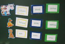 Äidinkielen ideoita