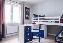 Ideas for children's bedrooms / Kids bedrooms are special places for games and adventures and for imaginations to grow! Take a look at some fun and stylish decorating ideas for your young family