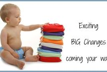 Exciting News! / Eek! I have such exciting news to tell you! There are some BIG changes coming! And I know it will be a blessing to all who love cloth diapers and natural products! Stay tuned! #bigchanges #clothdiapers #natural #weelittlechanges