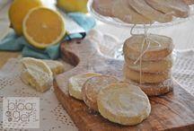 Biscotti inglesi al limone / Succo e scorza