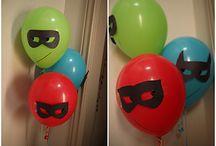 Cumpleaños súper héroes