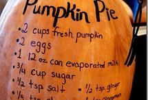 Pumpkin! / All things pumpkin; my favorite!!!!!!!! / by Crystal Clark