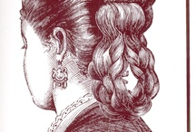 1800-tals frisyrer