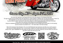 Cruzin' the Coast / Ready for Cruzin' the Coast?  Have you particpated in previous Delmarva Bike Week's Cruzin' the Coast cash-prize ride?    The Cruzin the Coast Run is self paced and runs for the entire duration of the Bike Week.    Click here for more info: http://www.asapstuff.com/index.cfm?ref=10100