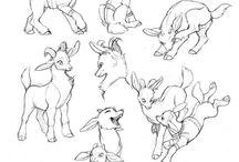 allusion: goats