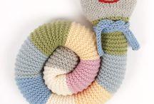 Chenille au tricot