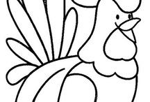 inspiracje rysunki szblony