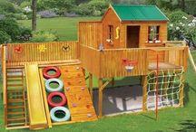 Backyard Playgrounds / by Ann Michaels