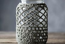 Crocheting-Jars