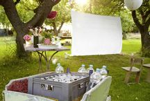 Ideen Outdoor Kino