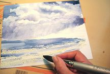 Watercolour tutorials