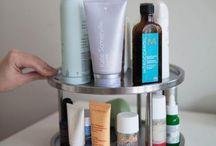 Beauty Product Organization and Storage