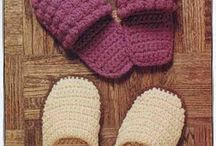 crochet slippers❤shoes / patterns tutorials inspirations