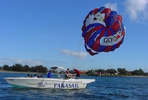 IWTTT - Parasailing Excurions Tours Cancun Riviera Maya Caribbean Ocean Waters / I promote for Sandos Resorts Vacation Club which offers a 5 night all inclusive stay for attending their timeshare promotion!  http://IWantToTravelTo.com