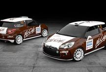 RTR Projects - Citroen DS3 R1, Arctic Cat Wildcat X / McCafé design and wrap for event Setkání mistrů Sosnová - 2014.