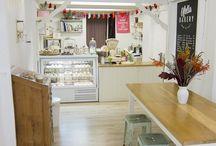 Cafeterías y pastelerías diseño