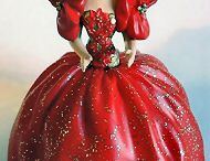 Holiday Barbie Ornaments