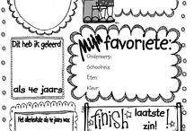 Eindeschooljaarkrant / Leuke ideeën voor het einde van het schooljaar. Een bedanking voor de leerlingen of een bedanking voor de juf of meester.