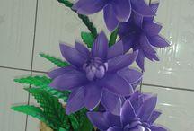 Eva flowers dıy