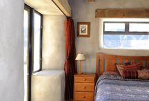 Strawbale bedrooms