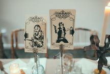 Table Number Themes / Fun ideas to number your tables incorporating special themes.