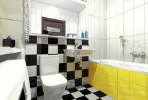 Decoroom : Kolorowe łazienki / Zdjęcia i projekty łazienek   www.decoroom.eu #decoroom #warszawawnetrza #łazienki