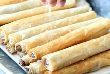 sweet filo pastry recipes