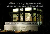 Library Support / Showcasing ways we support the Winters Community Library.