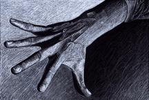 Artwork - Hands & Feet / by Joanna Mann